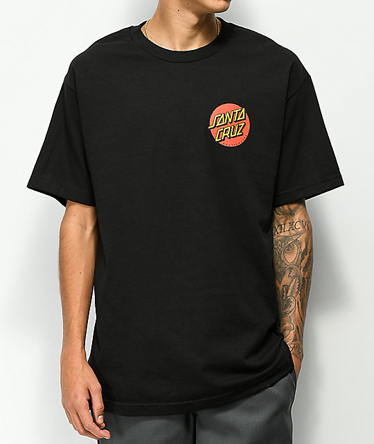 Odd Future x Santa Cruz Screaming Donut Black T-Shirt