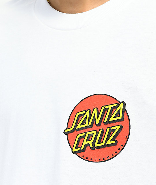 8f1ca6071012 ... Odd Future x Santa Cruz Screaming Donut White T-Shirt