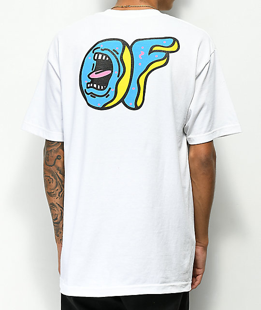 d23424d473f5 Odd Future x Santa Cruz Screaming Donut White T-Shirt