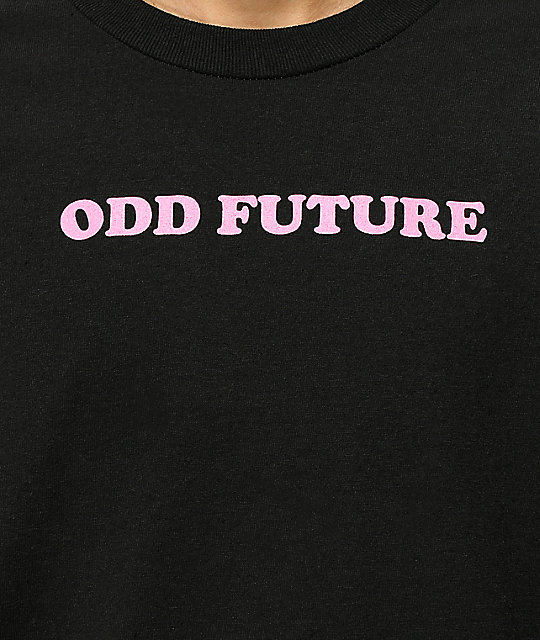 Odd Future x Santa Cruz Screaming Hand camiseta negra
