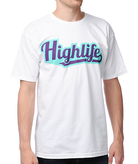 Official Crown Of Laurel Highlife White T-Shirt