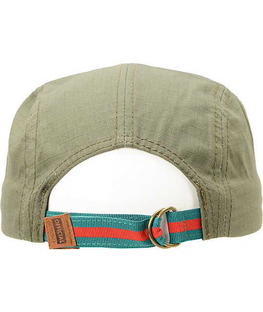 Official Crown Of Laurel Urbo Army Green 5 Panel Hat