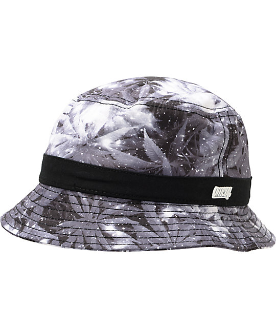 5e6177ccc9c53 Official Death Kush Weed Print Bucket Hat