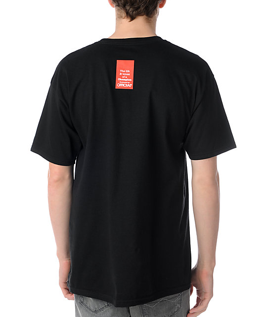 Official Racks On Racks Black T-Shirt