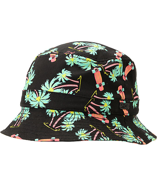 Official Skate HI Hawaiian Print Bucket Hat  1b403e2b477