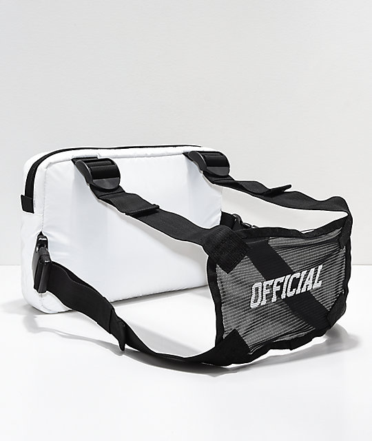 Official Utility White Chest Bag