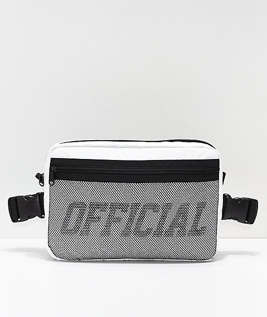 Official White & Black Utility Chest Bag