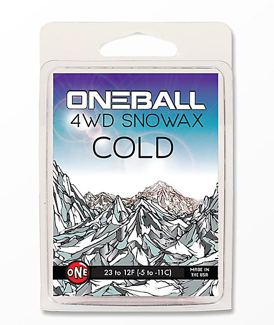 One Ball Jay 4WD Cold cera de snowboard