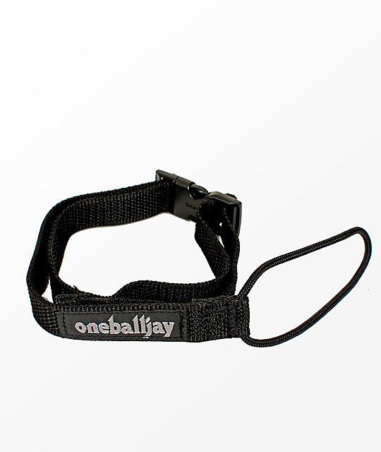 One Ball Jay Back'n Black Snowboard Leash