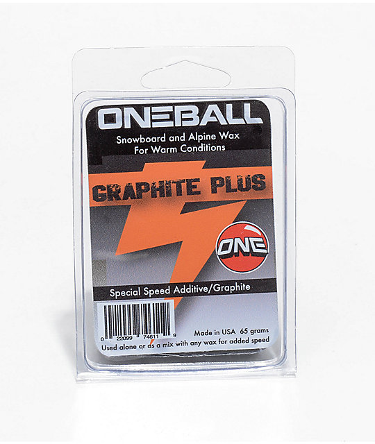 One Ball Jay F-1 Black Magic Graphite Snowboard Wax