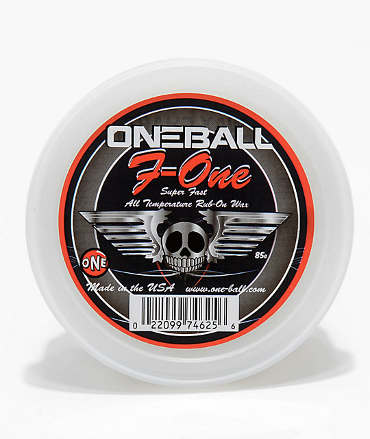One Ball Jay F-1 cera de snowboard