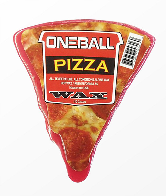 One Ball Jay Pizza Slice Snowboard Wax  9836623947
