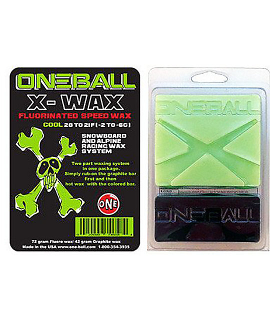 One Ball Jay X-Wax Cool cera de snowboard