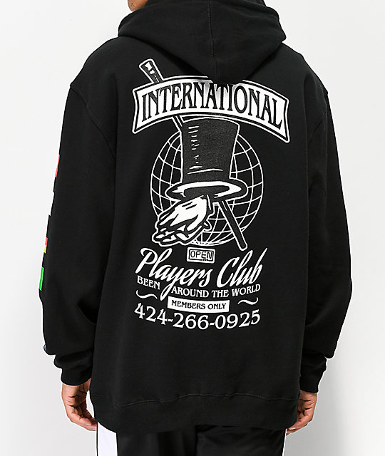 Open925 Players Club Black Hoodie