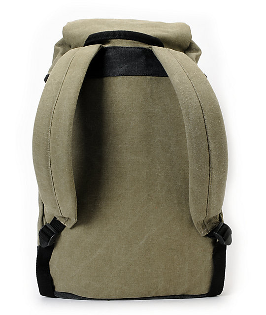Original Chuck Field Rucksack Olive & Black Backpack