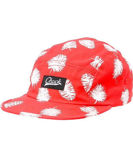 3b40aa41046 Original Chuck Squibbles Red 5 Panel Hat