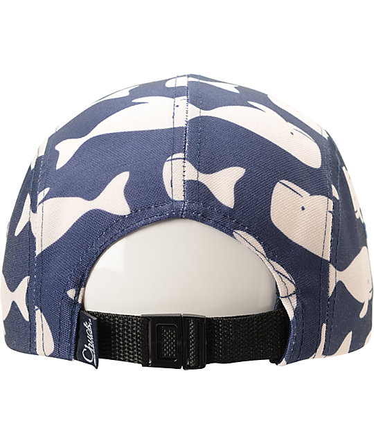 Original Chuck Whale Camper Navy 5 Panel Hat