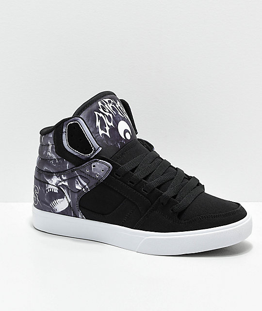 Osiris Clone Huit King Black Skate Shoes