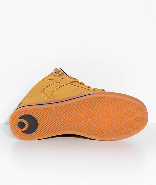 Osiris Clone Urban Light Brown Nubuck Skate Shoes