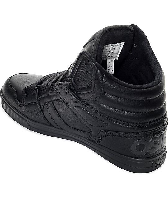 Zapatos negros Osiris para hombre P8FXylv
