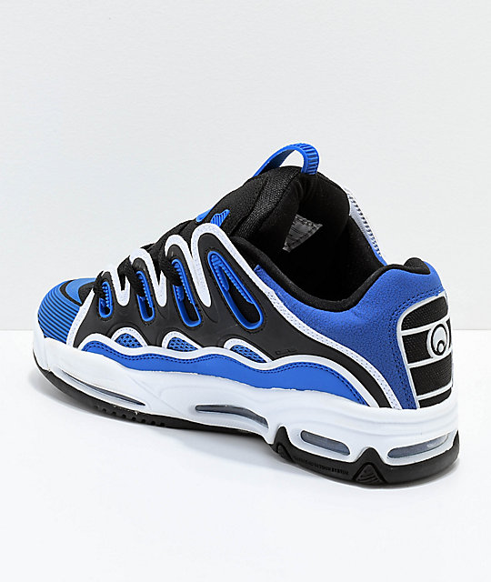 Osiris D3 2001 Royal Blue & White Skate Shoes