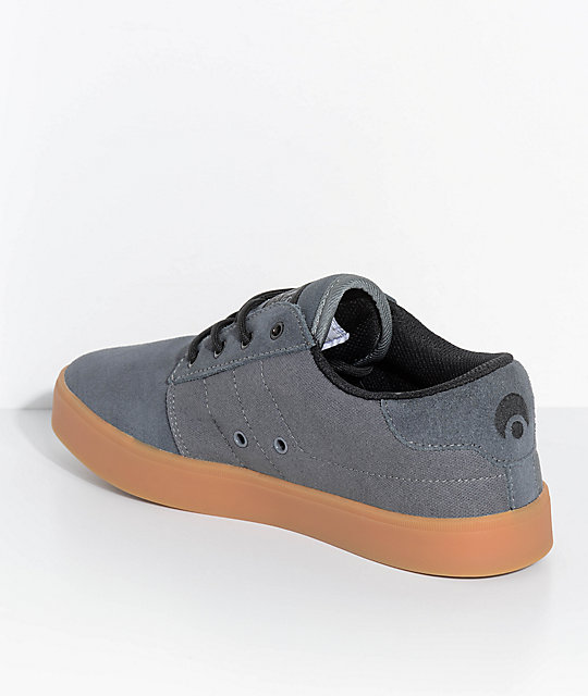 Osiris Mesa Charcoal & Gum Skate Shoes