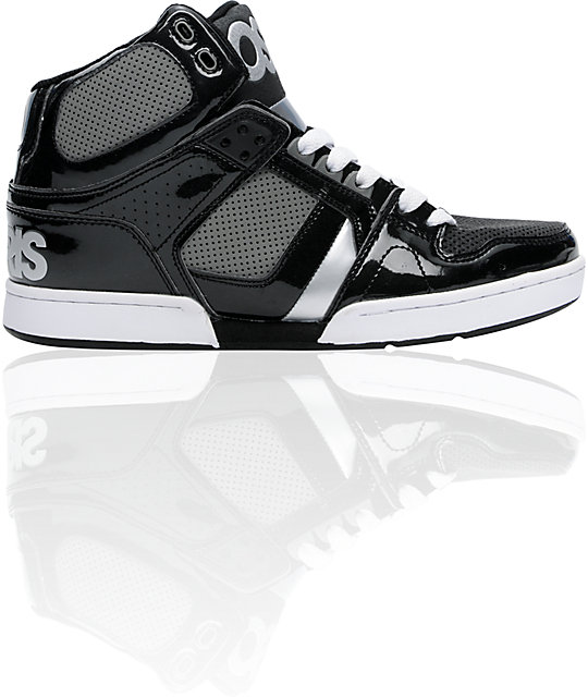 Osiris NYC 83 Black, Charcoal, & Silver Skate Shoes