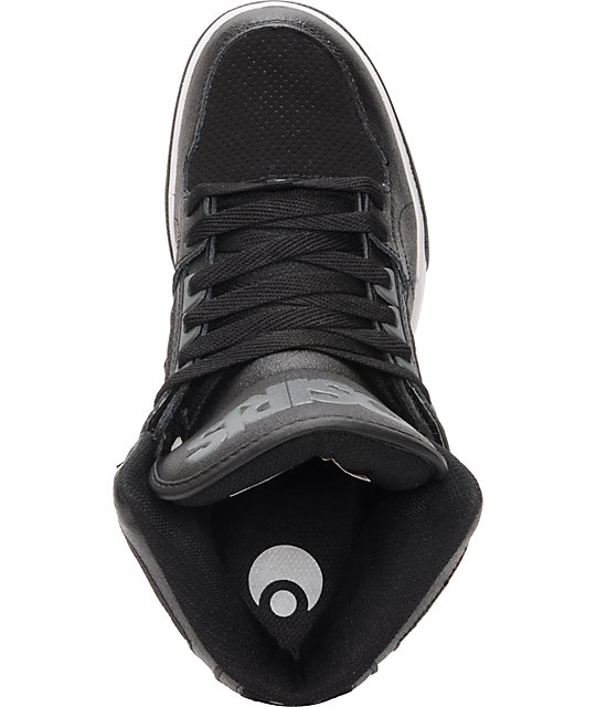 Osiris NYC 83 Black, Charcoal, & White Skate Shoes