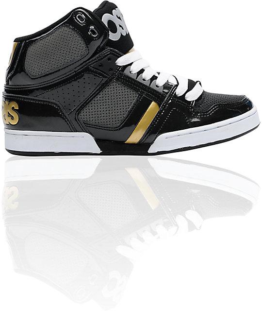 0b8d7bba76 Osiris NYC 83 Black, Charcoal & Gold Shoes   Zumiez
