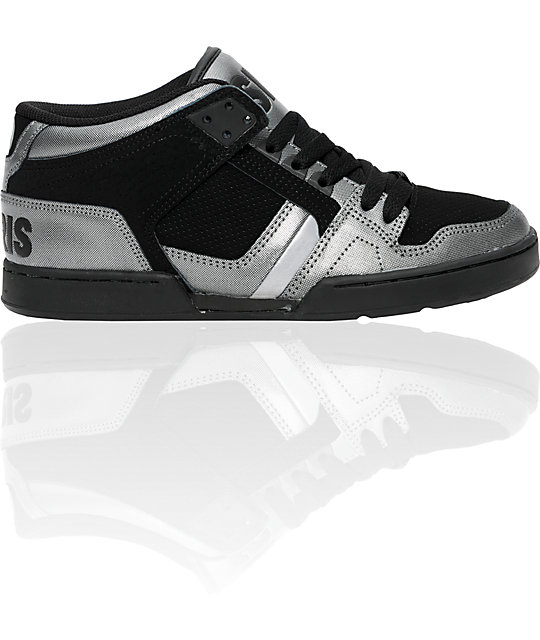 Osiris NYC 83 Charcoal & Black Shoes