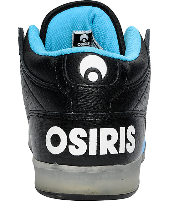 Osiris NYC 83 Mid Glow-In-The-Dark Shoes