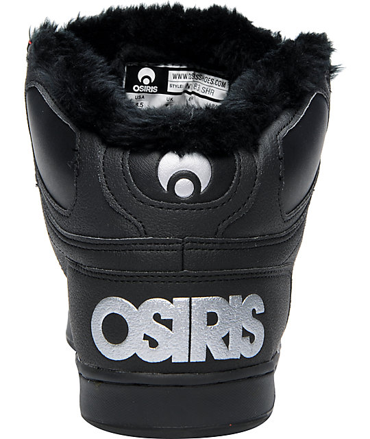 Osiris NYC 83 SHR Black & 3M Shoes