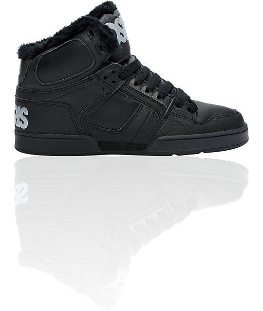 Osiris NYC 83 SHR Black & 3M Shoes ...