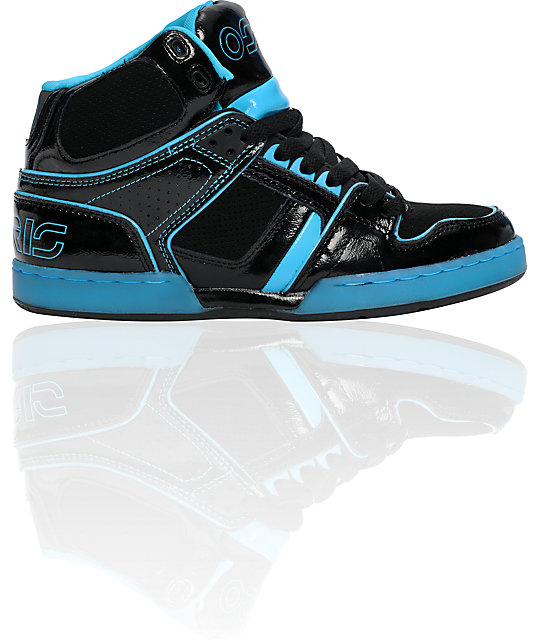 Osiris NYC 83 Ultra Cyan & Black Shoes