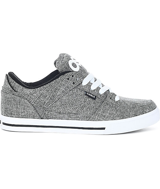 Osiris Protocol Grey, White & Slate Skate Shoes