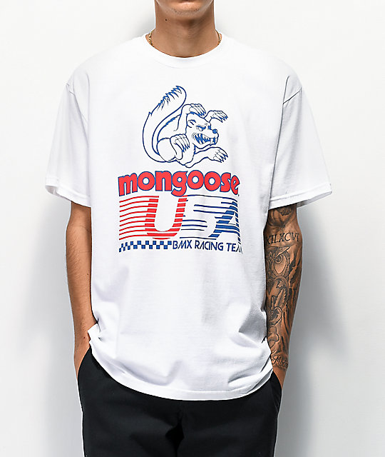 Our Legends x Mongoose USA camiseta blanca