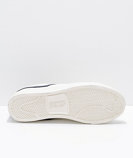 PONY Topstar Lo Off-White Canvas Shoes