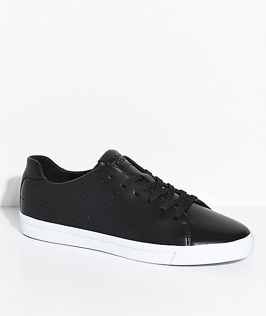 PONY Topstar Lux Lo Black White Shoes 2018 Brand Casual Shoes Male 287800