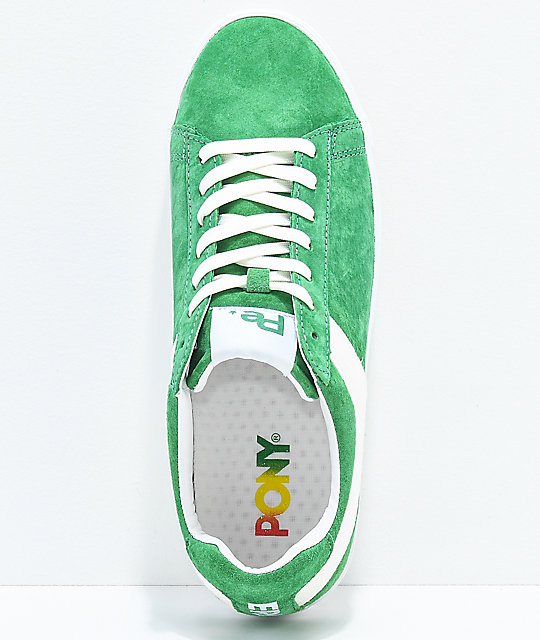 PONY x Joey Bada$$ Topstar Lo Pro Era Green Shoes