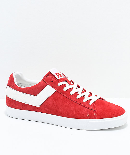 timeless design excellent quality coupon codes PONY x Joey Bada$$ Topstar Lo Pro Era Red Shoes