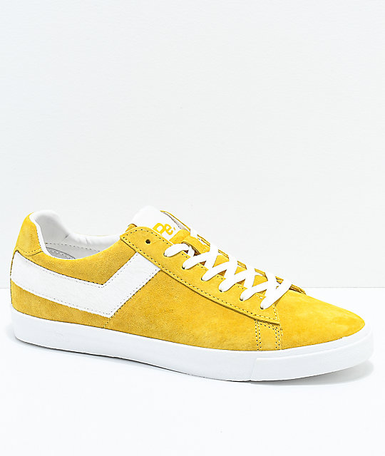 PONY x Joey Bada Topstar Lo Pro Era Yellow Shoes 2018 Brand Casual Shoes Female 293060