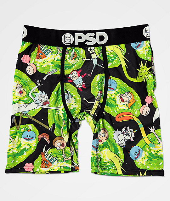 PSD x Rick And Morty All Over Print calzoncillos boxer