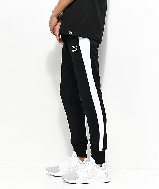 2feebc89cef6 ... PUMA Archive T7 Black Track Pants