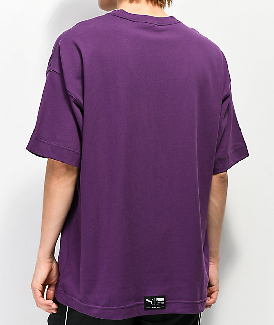 PUMA Downtown camiseta morada