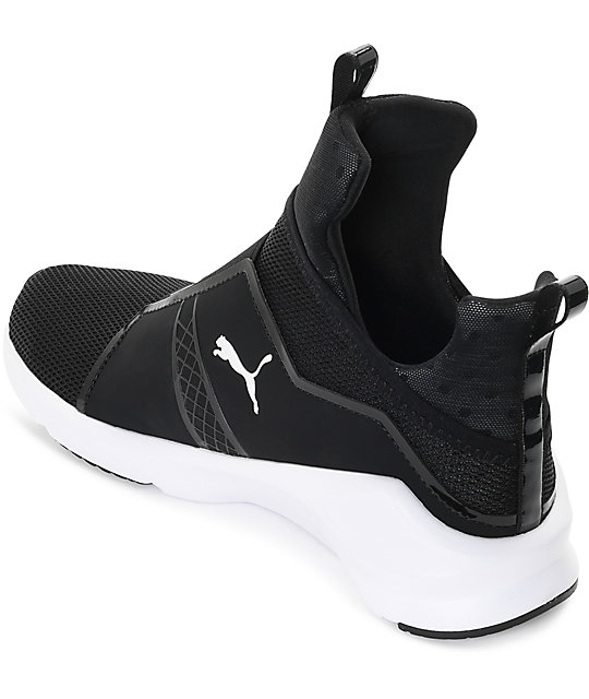 ba11fdd4d80f ... PUMA Fierce Core Black   White Shoes ...