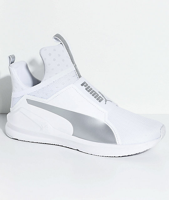 puma fierce core blanche