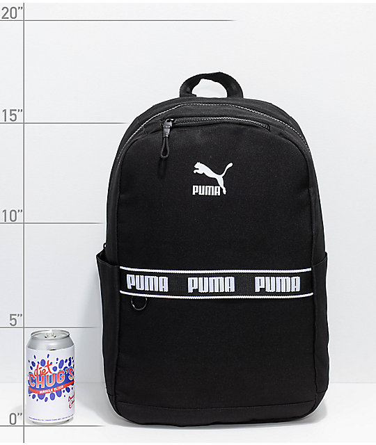 ad393d36927a ... PUMA Mainline Linear Black Backpack