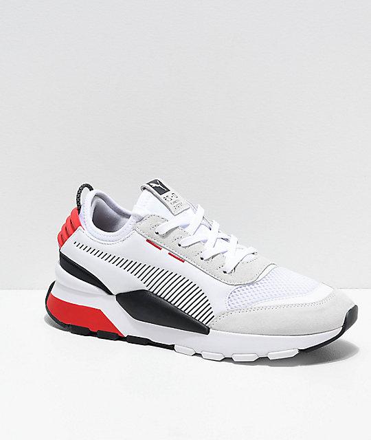 bcdb65e8e131 PUMA RS-O Winter INJ Toys White   Red Shoes