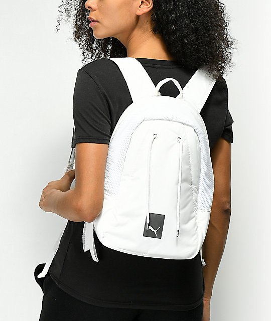 PUMA Small White Backpack