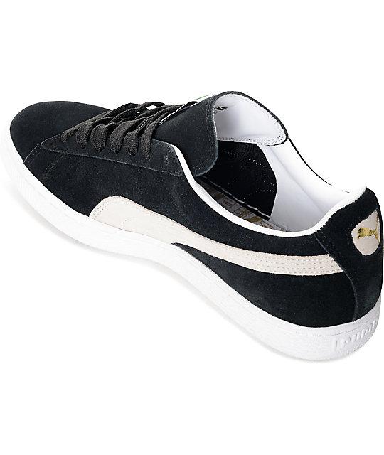 96ae95d5156fee ... PUMA Suede Classic + Black Shoes ...
